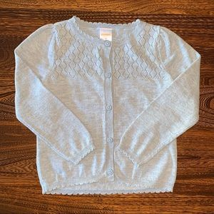 Gymboree NWOT Grey 3T Sweater Cardigan